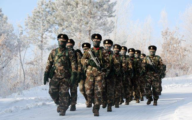 Chinese army spotted in PoK