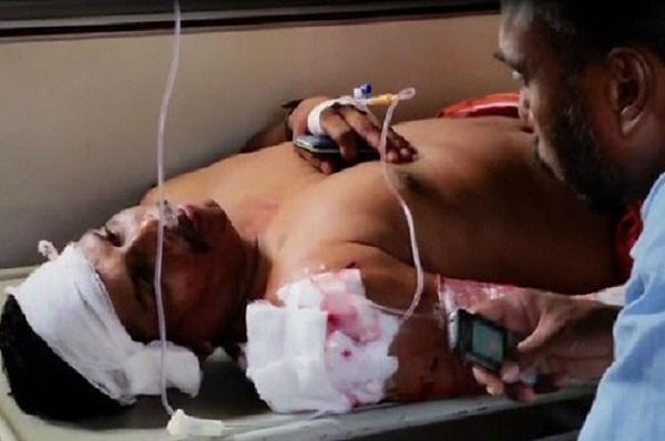 कुन्नूर में संघ कार्यकर्ता पर हमला