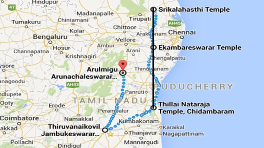 पंच महाभूत मंदिर - २