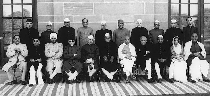 The_first_Cabinet_of_independent_India